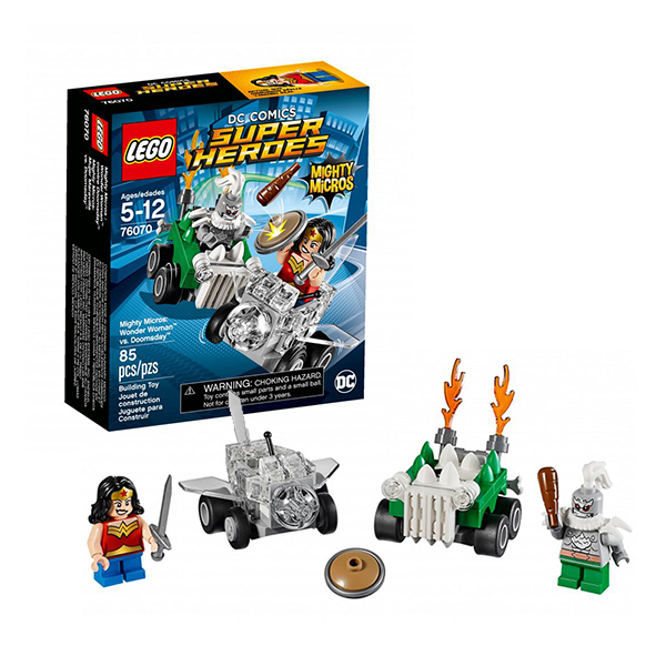 Lego Super Heroes Mighty Micros 76070 Лего Супер Герои Чудо-женщина против Думсдэя
