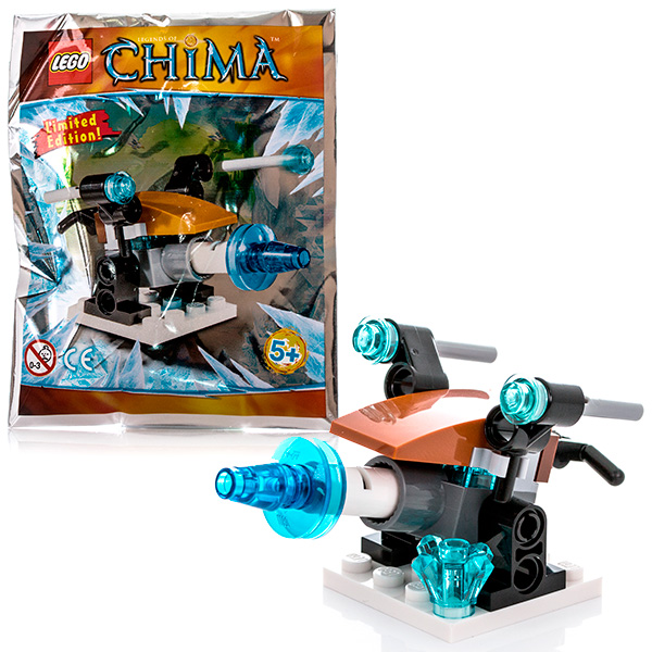 Lego Legends Of Chima 391411 Лего Легенды Чимы Артиллерия ледяного охотника